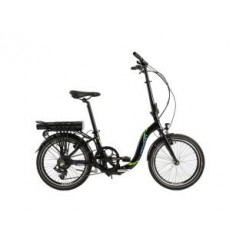 "Devron Electric Folding 20"" vouwfiets Zwart"